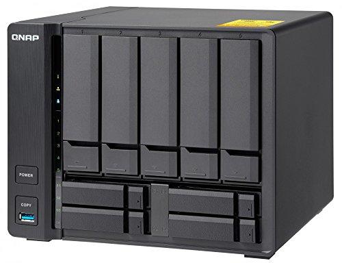 QNAP(キューナップ) TS-932X 、デュアル10GbEポート付き3.5インチおよび2.5インチドライブ 9ベイ NASサーバ...