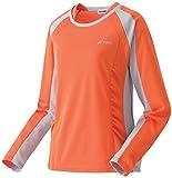 (ヨネックス)YONEX LADIES ロングスリーブTシャツ 16223 488 サンシャインオレンジ M