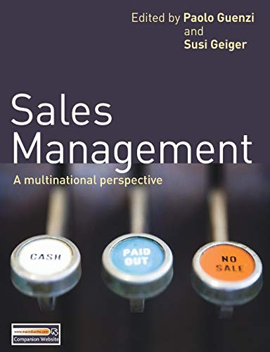 Download Sales Management: A multinational perspective 0230245951