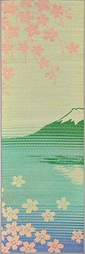 イケヒコ 国産い草使用 インストラクター公認 ヨガマット 「畳ヨガ」 約60×180cm SAKURA富士 1枚