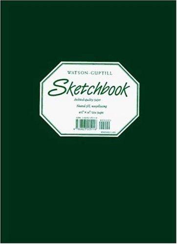 Large Sketchbook (Kivar, Hunter Green)