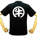 ヴィッセル神戸応援ウェア 牛Tシャツ サッカー バックプリント 面白Tシャツ おもしろTシャツ