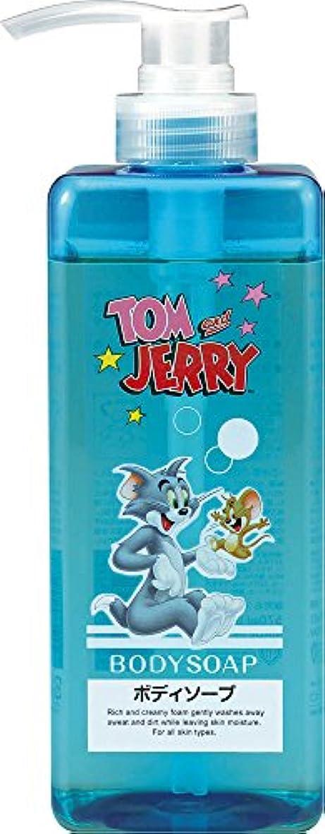 ホーン可愛いリボン熊野油脂 トムとジェリー ボディソープ 570ml