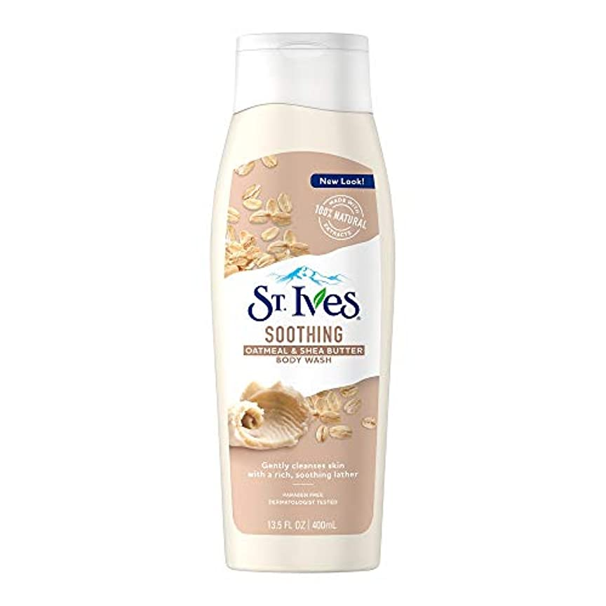 ディスパッチバトルベンチャーSt Ives Body Wash Oatml Shea Butter 13.5 Oz by St. Ives