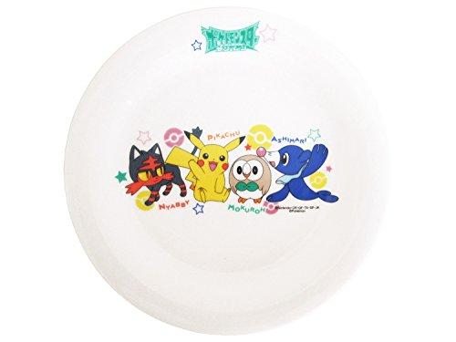 「 ポケットモンスター サン&ムーン 」 ケーキ皿 直径15.5cm 子供用 食器 白 141528