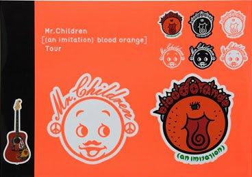 Mr.children blood orange ステッカー...