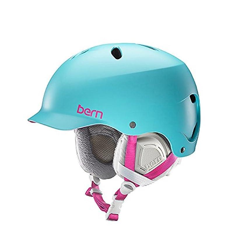 欲望シャイニング乳白色Bern バーン LENOX ヘルメット 大人用 レディースモデル 軽量 アクションスポーツ 正規品