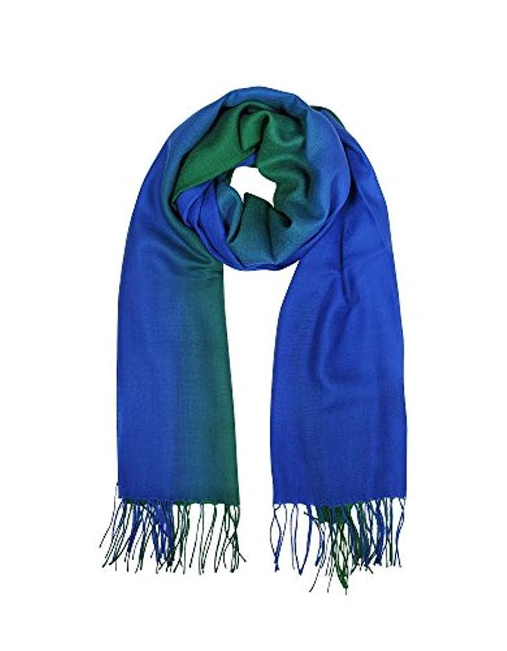 賛美歌手順国際Mila Schon レディース B4548P0105 ブルー ウール スカーフ