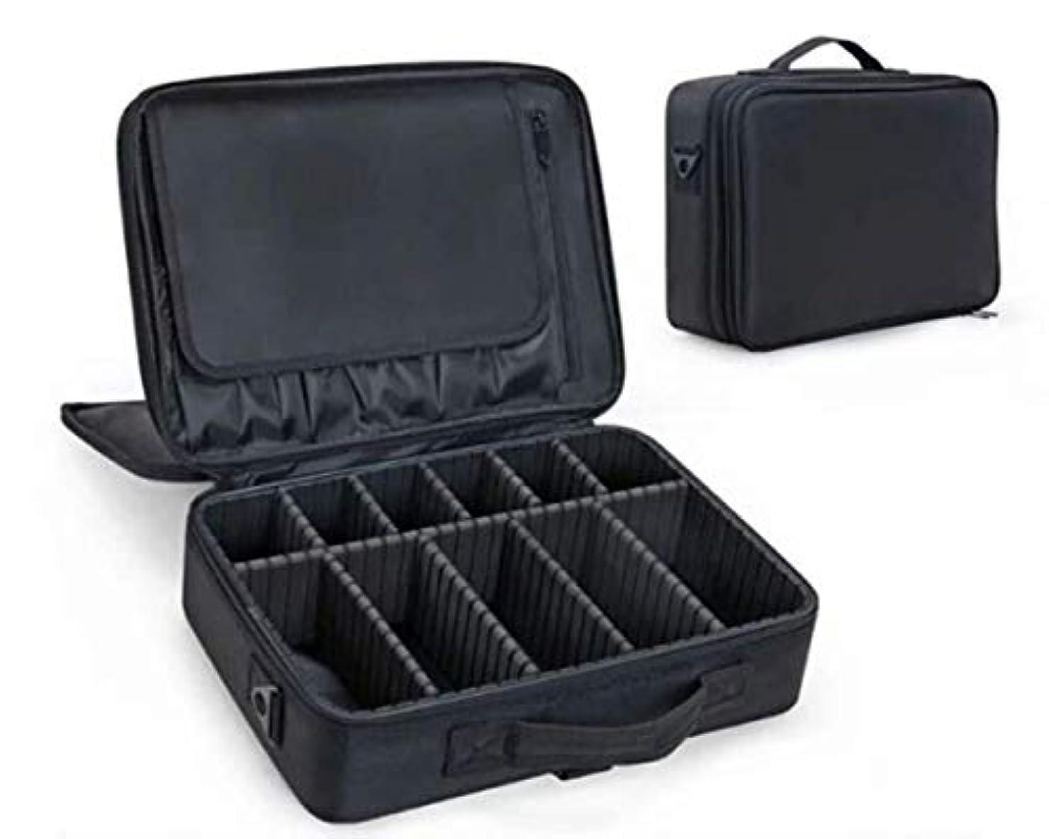 山岳炭素安全SHINA プロ用 メイクボックス 高品質 收納抜群 大容量 化粧バッグ 旅行 家用 化粧ボックス 収納ボックス 化粧ケース