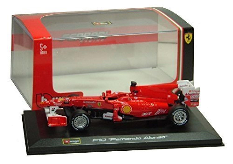 F1 Ferrari F10 Fernando Alonso 2010 Formula 1 Die-Cast Model By Bburago 1:32 Scale by Bburago [並行輸入品]