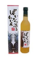 ぱいなっぷるわいん 11度 500ml/(有)八重泉酒造
