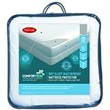 Tontine Comfortech Dry Sleep Waterproof Mattress Protector, Single