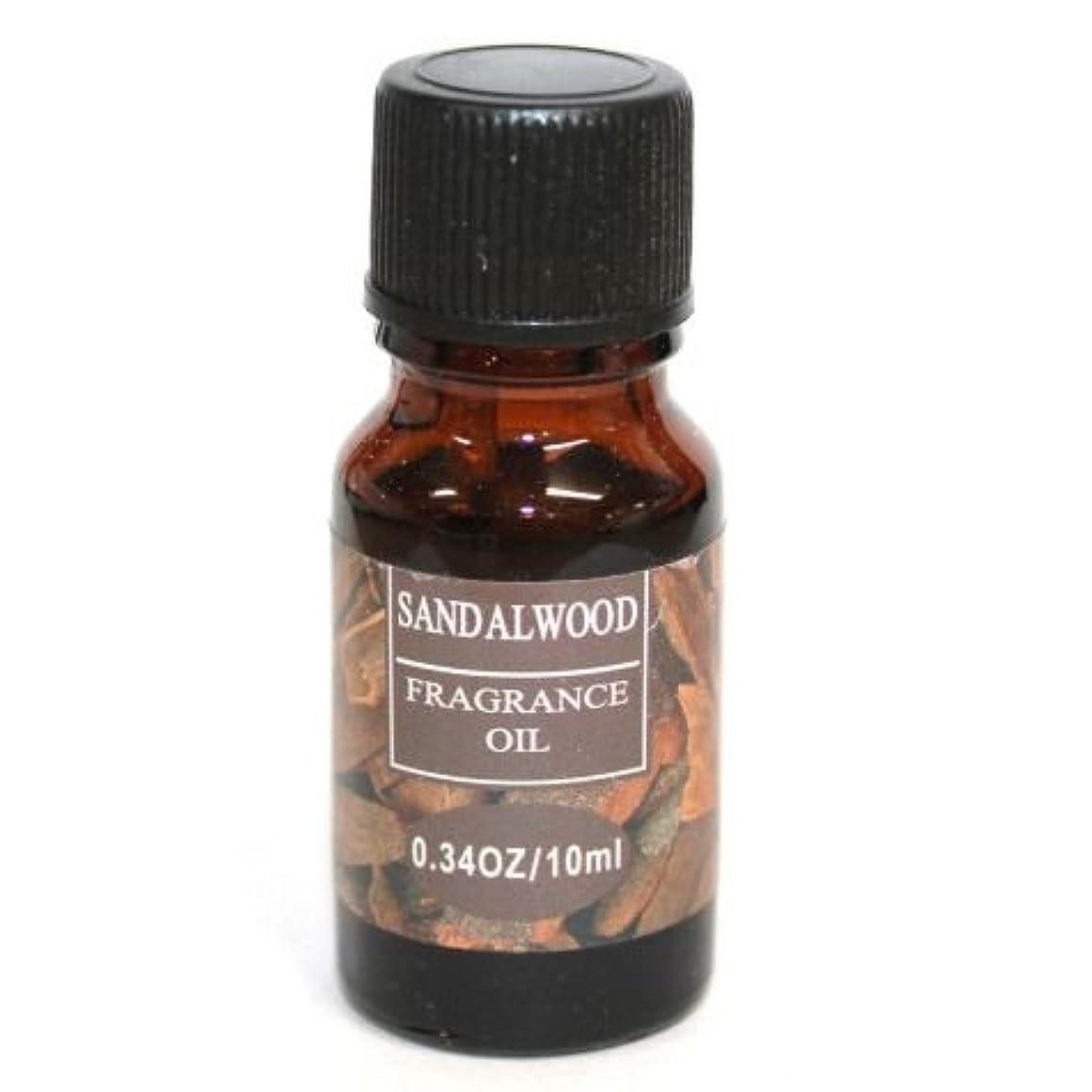 頂点実現可能性季節RELAXING アロマオイル フレグランスオイル サンダルウッドの香り ビャクダン (白檀) RQ-03