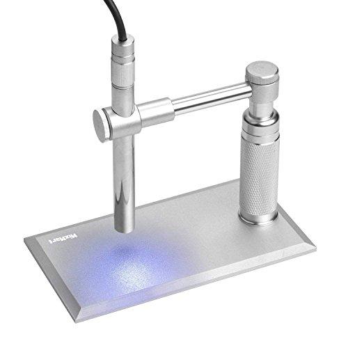 MixMart 顕微鏡 8LEDライト搭載 250~500倍 USB接続 PC対応 A1-Microscope