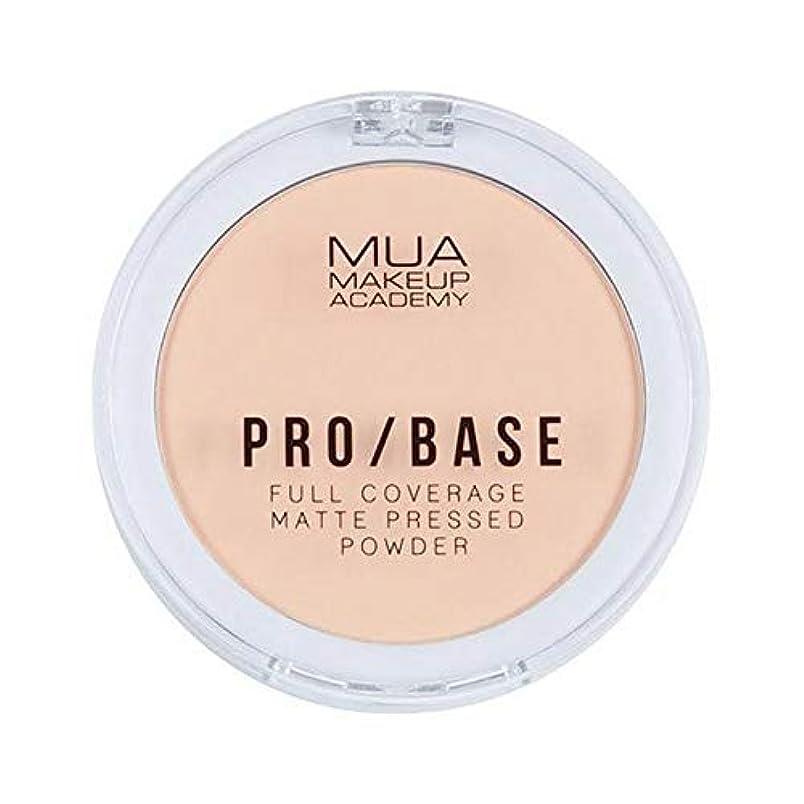 シーン六証明する[MUA] Mua Pro/ベースフルカバレッジマット粉末#110 - MUA Pro/Base Full Coverage Matte Powder #110 [並行輸入品]
