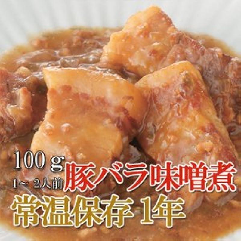リネン頬骨私たち自身レトルト 和風 煮物 豚バラ味噌煮 100g (1-2人前) X5個セット (和食 おかず 惣菜)