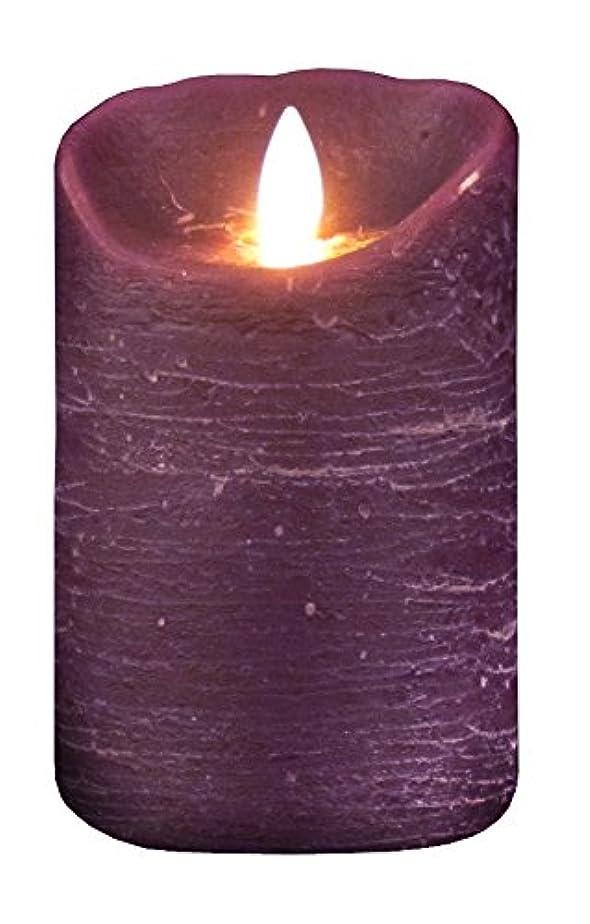 家具スカープ変色するムービングキャンドル ルナーテ【フェイクキャンドル】 パープル