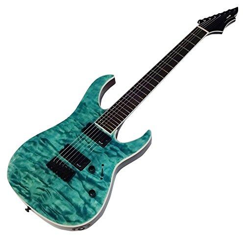 【SPEAR GUITAR】 Gladius Seventh Moon   *エメラルドオーシャンブルー* ストラトキャスタータイプ 7弦ギター ECOパッケージ SG-GDHT7SM-EOB_NC