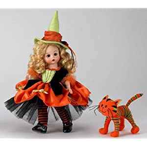 Madame Alexander, Witchy Wendy and her Quirky Cat, Special Occasions Collection, Halloween Collection - 8