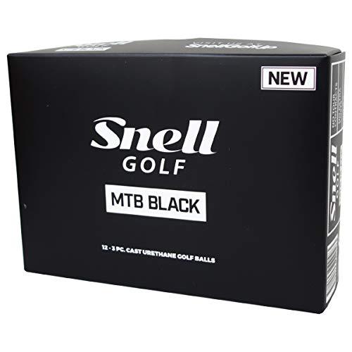 スネルゴルフ(Snell Golf) ゴルフボール MTB BLACK ゴルフボール 1ダース(12球入) ホワイト