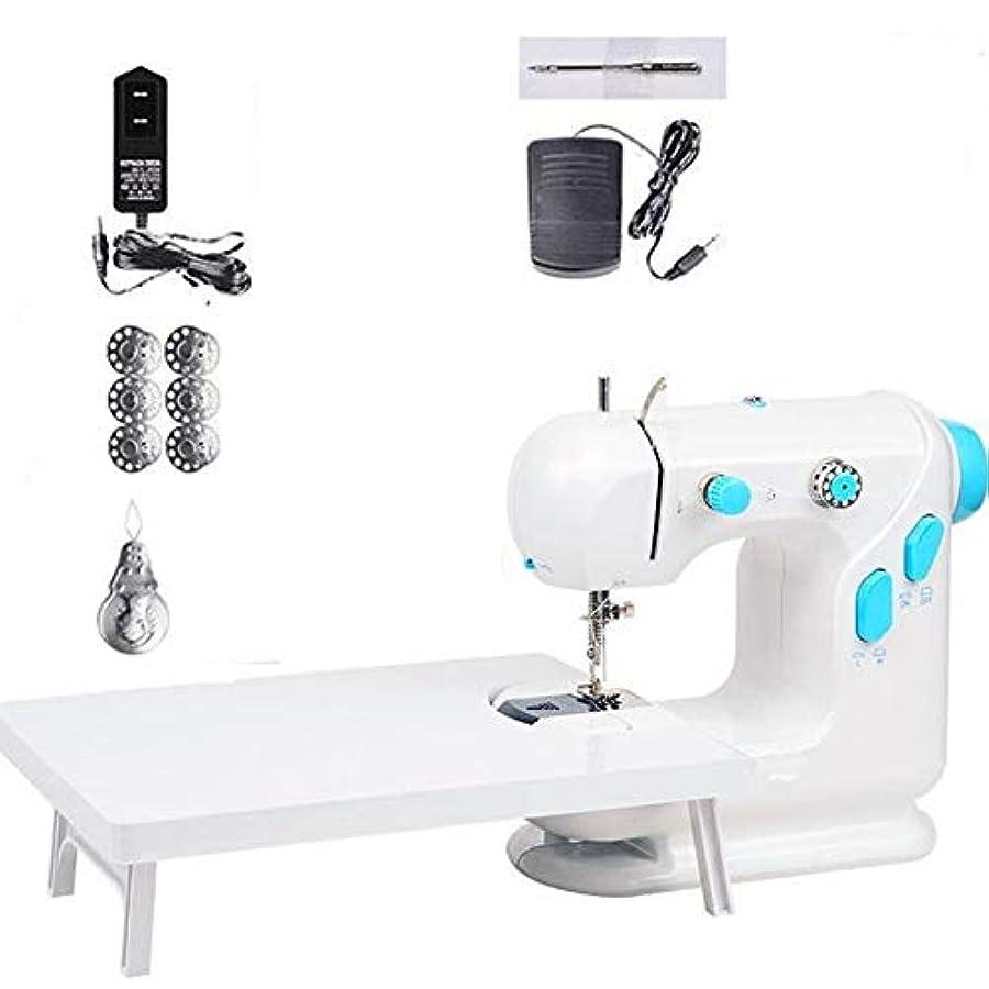 早いレクリエーションガチョウ電動卓上ミシン、家庭用ミシン、多機能ミシン、延長テーブルを含む、単針、複線製作補修機