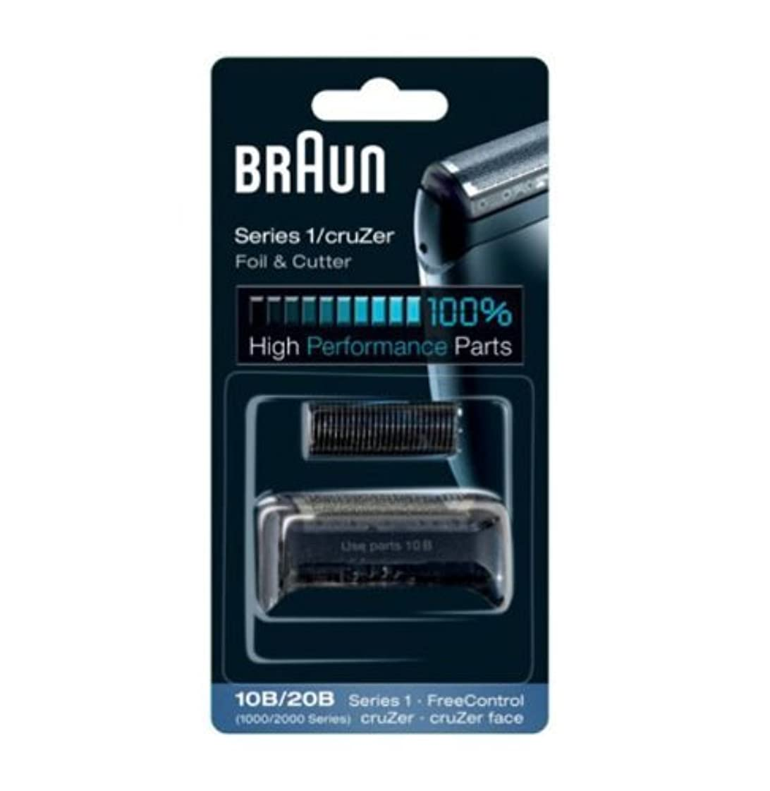 無一文トランスミッション無知Braun Replacement Foil & Cutter - 10B, Series 1,FreeControl - 1000 Series by Braun [並行輸入品]
