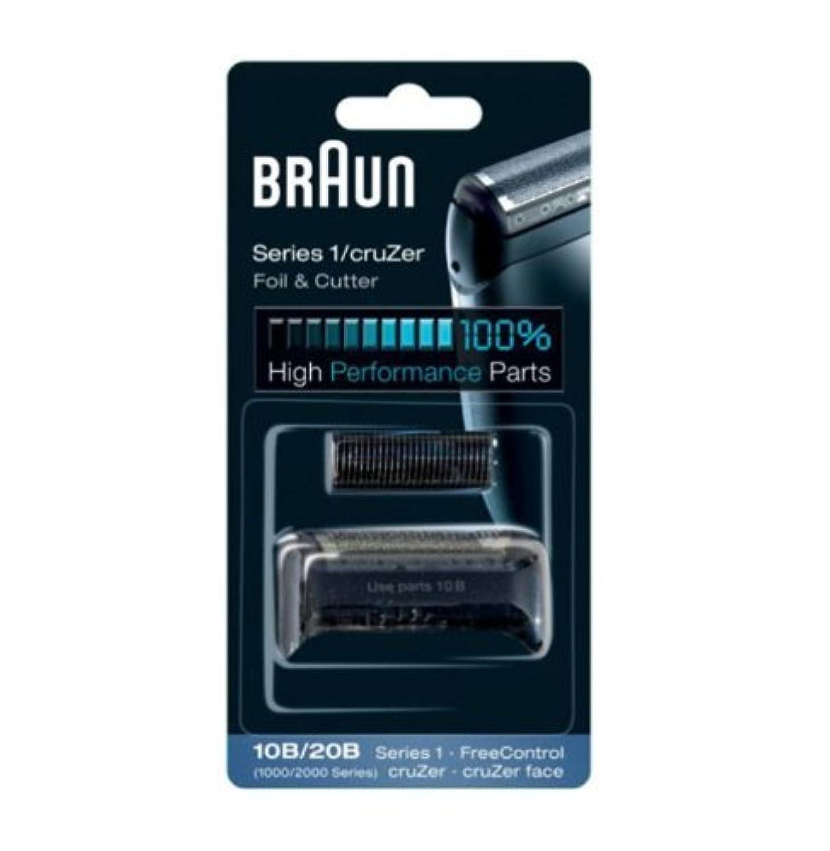 思い出すドロー充電Braun Replacement Foil & Cutter - 10B, Series 1,FreeControl - 1000 Series by Braun [並行輸入品]