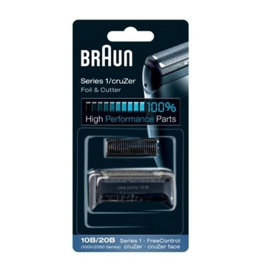 会員宣伝電気的Braun Replacement Foil & Cutter - 10B, Series 1,FreeControl - 1000 Series by Braun [並行輸入品]