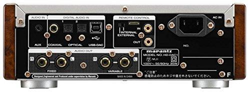 MARANTZ USB-DAC/ヘッドホンアンプ シルバーゴールド HD-DAC1/FN