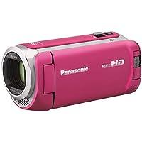 パナソニック HDビデオカメラ 64GB ワイプ撮り 高倍率90倍ズーム ピンク HC-WZ590M-P