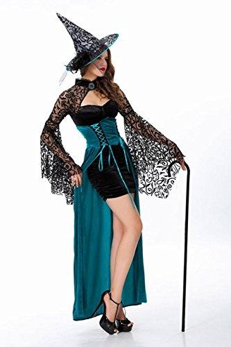 《Princess★MARRON》プリンセス・マロン ハロウィン コスプレ 衣装 コスチューム 小悪魔 ウィッチ とんがり帽子付き 仮装 魔女 セクシー レース