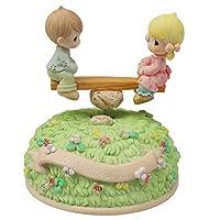 人形のオルゴール、樹脂の家の装飾、空のメロディーの城を持つ創造的な誕生日のおもちゃのおもちゃ