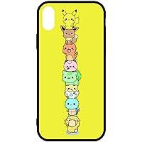 ポケモン Pokemon GO ゴー ピカチュウ pikacyu かわいい iPhone case アイフォンケース ケース 柄 5 5s se 6 6s 7 8 plus X (iPhone X, 03)