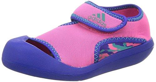 [アディダス] adidas SandalFun C (ナイトフラッシュ S15/ソーラーピンク/ビビッドミントF14/17.0) adidas(アディダス) B24021