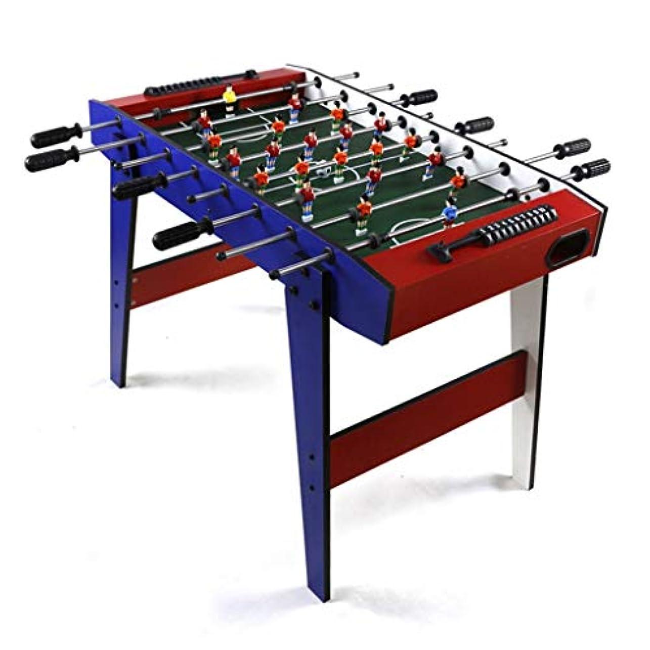 エージェント後ろ、背後、背面(部ゲーム屋内フィットネスゲームテーブル大人の子供の標準8テーブルサッカー機械のおもちゃ屋内大型サッカーテーブルギフトショッピングモール大人のゲーム機 (Color : RED, Size : 90*50.5*60CM)