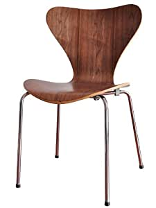アルネ・ヤコブセン Seven Chair セブンチェア ウォールナット ブラウン SC-07-WN