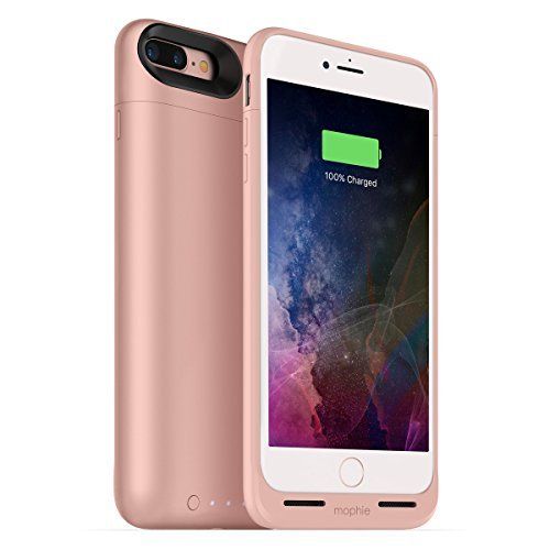 mophie juice pack air for iPhone 7 Plus ワイヤレス充電機能付きバッテリーケース ローズゴールド日本正規代理店品 MOP-PH-000152