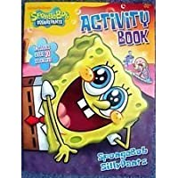 SpongeBob SquarePants Activity Book ~ SpongeBob SillyPants (Includes Over 30 Stickers) by Bendon Publishing [並行輸入品]