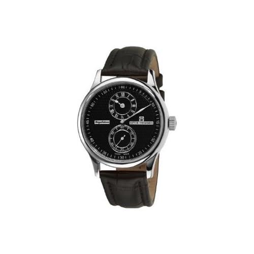 [レビュートーメン]Revue Thommen Men's 16065.2537 Regulator Mens Black Face Automatic Watch Watch 腕時計 [並行輸入品]