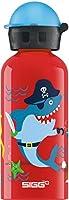 Sigg Underwater Pirates、ベビーウォーターボトル、レッド、0.4 L