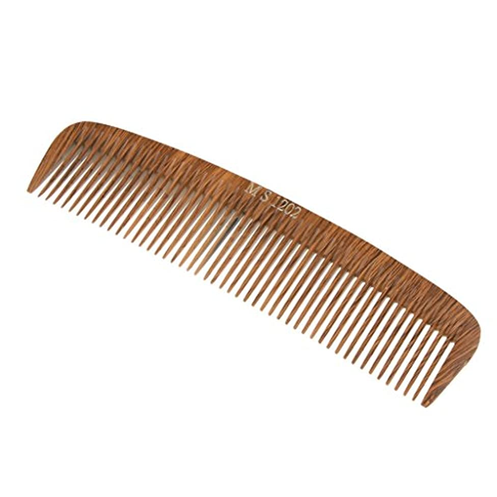 スリッパまともな受け入れた木の理髪のスタイリングの櫛、大広間およびホテルのヘアケアツールのための頑丈な細かい歯の毛の櫛 - 1202