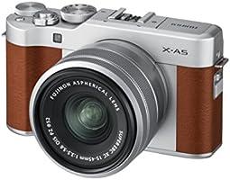 FUJIFILM ミラーレス一眼 X-A5レンズキット ブラウン X-A5LK-BW A Amazonベーシッククーポン付