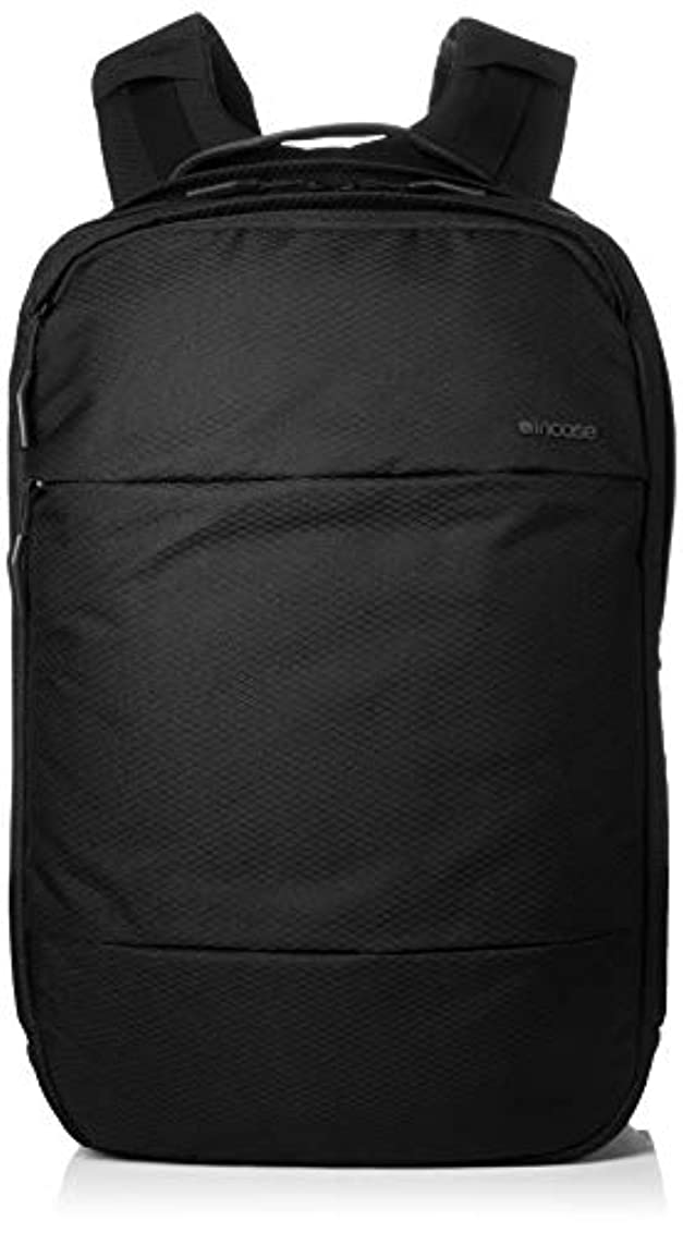 ヘビ補助さようなら[インケース] City Backpack With Diamond Ripstop (INCO100359-BLK) up to 17