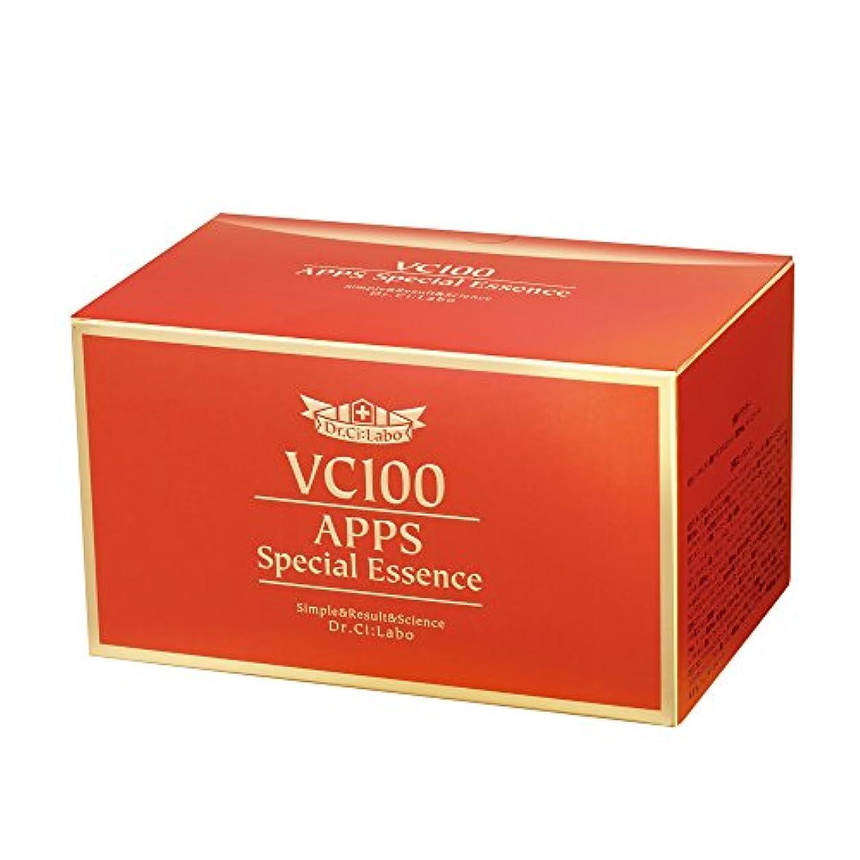あさり住居餌ドクターシーラボ VC100APPSスペシャルエッセンス 7日分×4セット 集中美容液