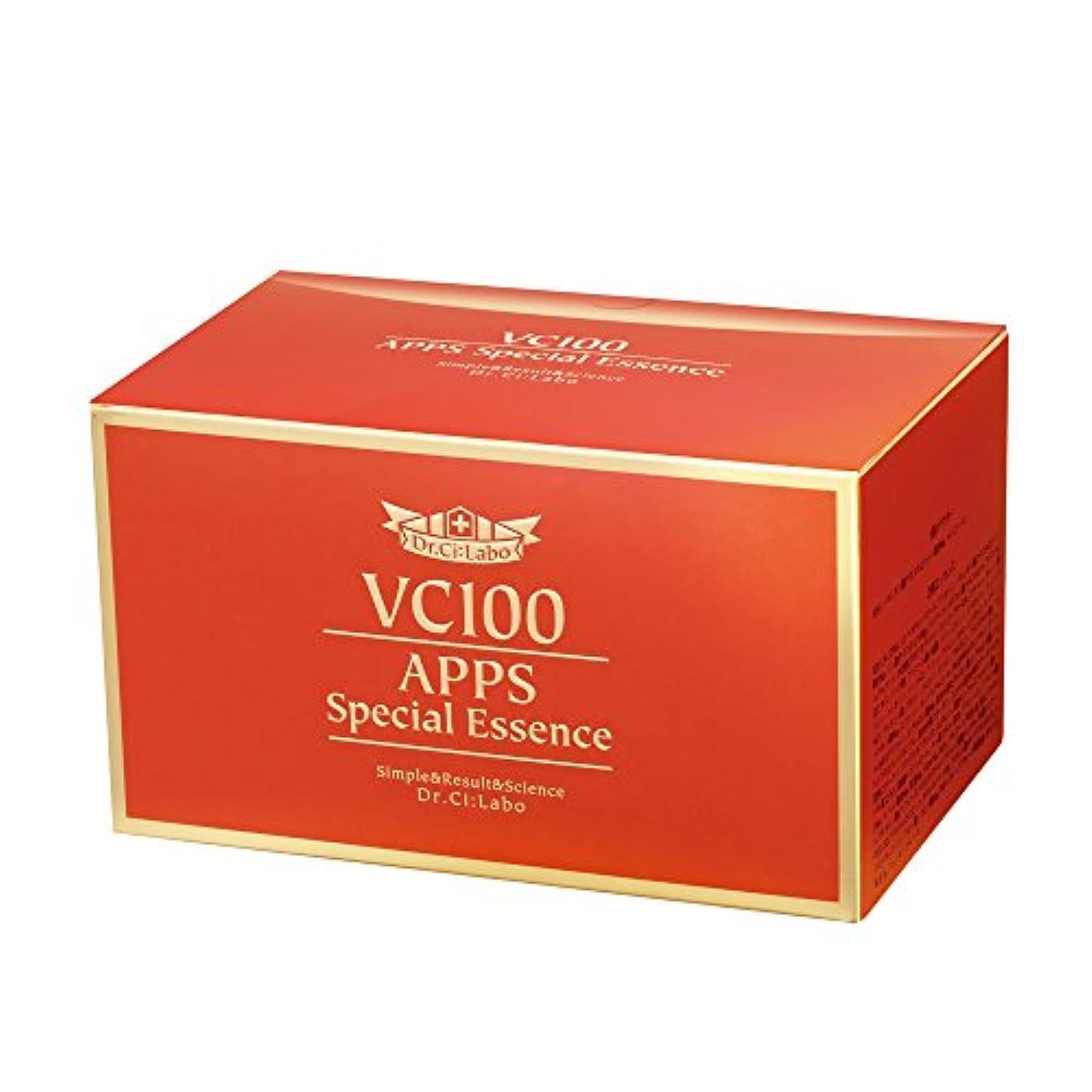 自動化品同時ドクターシーラボ VC100APPSスペシャルエッセンス 7日分×4セット 集中美容液