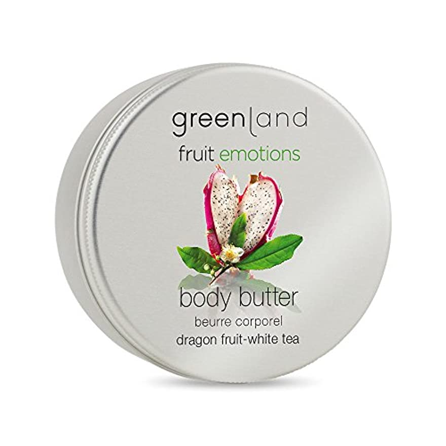 カウンターパート合金贅沢greenland [FruitEmotions] ボディバター 120ml ドラゴンフルーツ&ホワイトティー FE0438