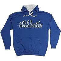 123t Evolution Kayak Funny Hoodie