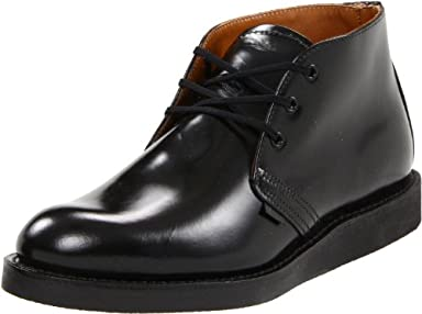 Red Wing Postman Chukka 9196: Black Chaparral