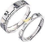 083基地 クジラ 52Hz 鯨 ペアリング フリーサイズ 2枚セット 結婚指輪 婚約指輪 ペアルック シルバー925 レディースリング メンズリング ギフトボックス