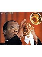 Louis Armstrong: Grands Du Jazz - Poster